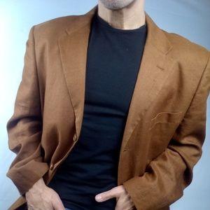 Other - New Linen Coppery Rusty Blazer XL